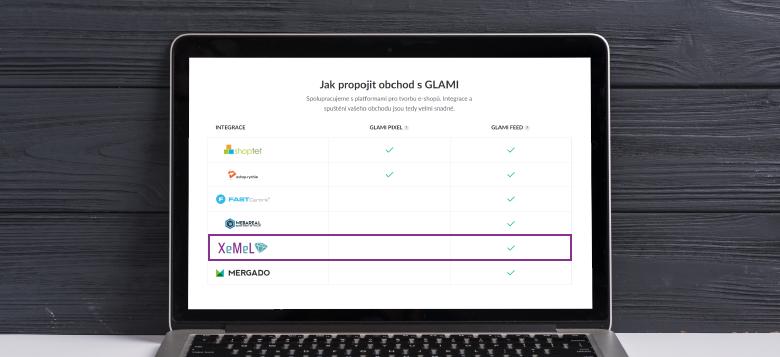 Xemel patří mezi doporučované nástroje pro přípravu Glami feedu