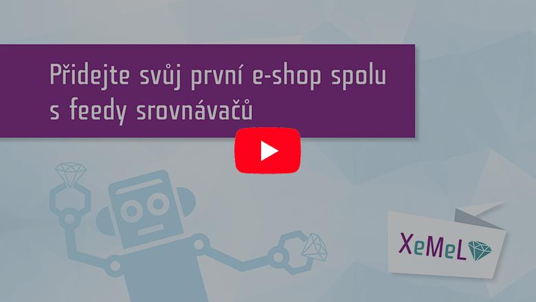 Videonávod jak přidat e-shop
