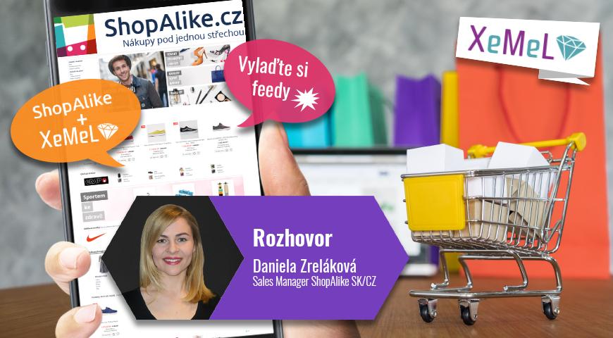 Partnerství Xemel a ShopAlike