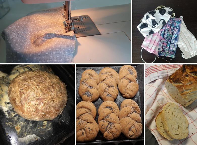 Chleby, roušky, houstičky