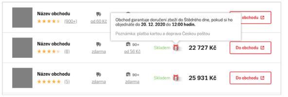 Zboží.cz ikona Doručení do Vánoc